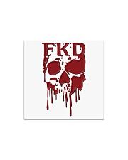 FKD Frankford Philadelphia Dripping Skull Square Magnet thumbnail