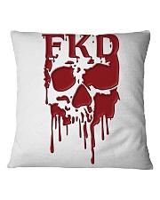 FKD Frankford Philadelphia Dripping Skull Square Pillowcase thumbnail
