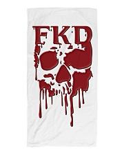 FKD Frankford Philadelphia Dripping Skull Beach Towel thumbnail