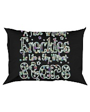 A Face Without Freckles Like a Sky Without Stars Rectangular Pillowcase thumbnail