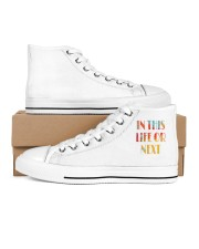 In This Life Or Next Men's High Top White Shoes thumbnail