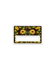 Credit Card Cover Sticker - Single (Horizontal) front