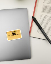 Credit Card Cover Sticker - Single (Horizontal) aos-sticker-single-horizontal-lifestyle-front-13
