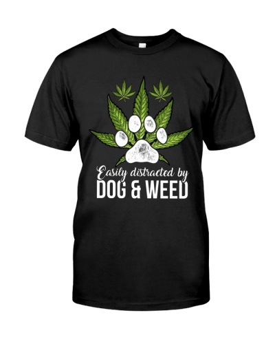 Dog And Weed