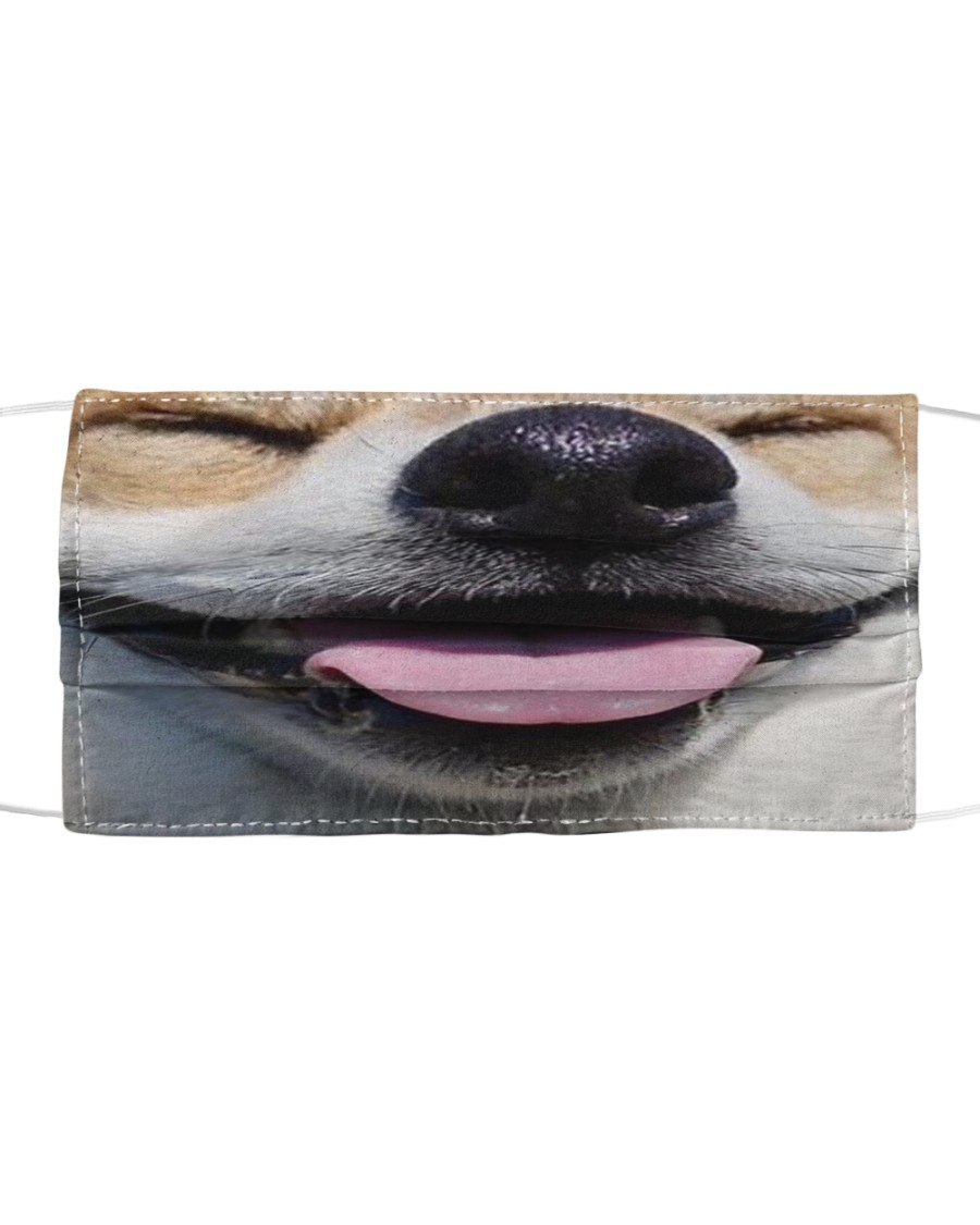 Funny Puppy 01  Cloth face mask