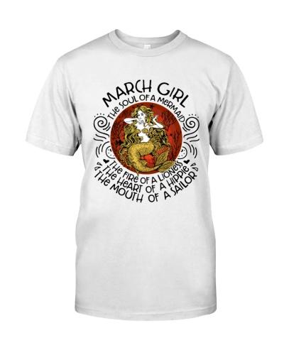 March Girl Mermaid