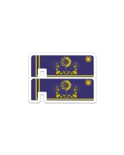 Credit Card Cover 2 pieces Sticker - Single (Horizontal) front