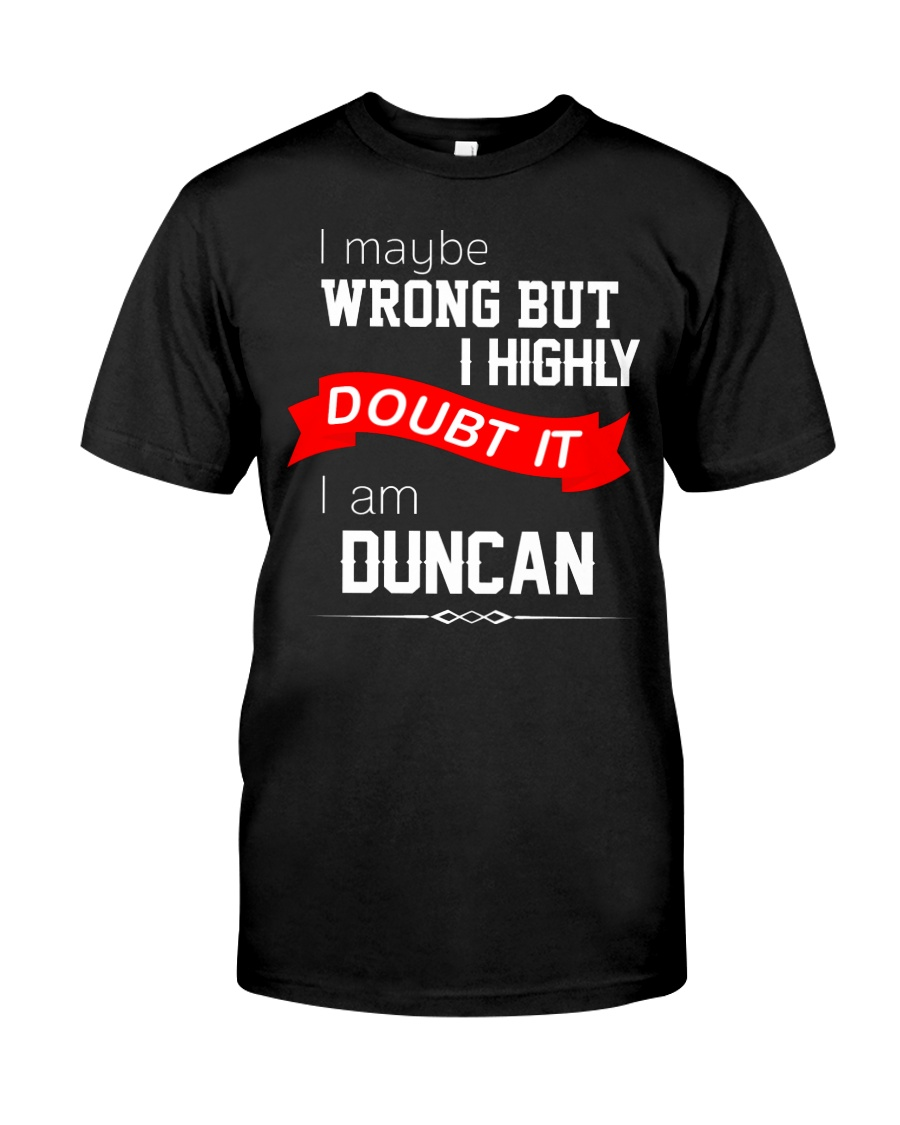 Limited Edition: DUNCAN Classic T-Shirt