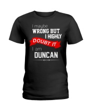 Limited Edition: DUNCAN Ladies T-Shirt thumbnail