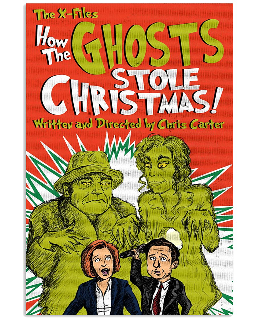THE XFILES HOW THE GHOSTS STOLE CHRISTMAS 11x17 Poster