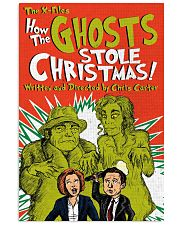 THE XFILES HOW THE GHOSTS STOLE CHRISTMAS 11x17 Poster front