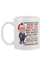 Donald Trump Mug - You are a Great dad christmas Mug back