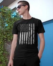 We Are Libertarians Flag Logo Design Classic T-Shirt apparel-classic-tshirt-lifestyle-17