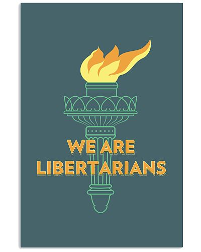 Liberty Torch Poster