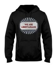 We Are Libertarians Air Force Design Shirt Hooded Sweatshirt thumbnail