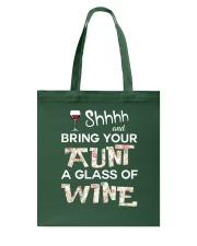 aunt-wine Tote Bag thumbnail