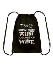 aunt-wine Drawstring Bag thumbnail