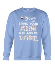 aunt-wine Crewneck Sweatshirt thumbnail