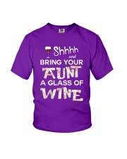 aunt-wine Youth T-Shirt thumbnail