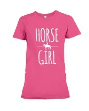 horse girl  Premium Fit Ladies Tee thumbnail