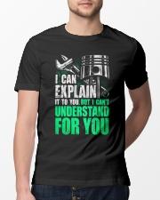 mechanic Classic T-Shirt lifestyle-mens-crewneck-front-13