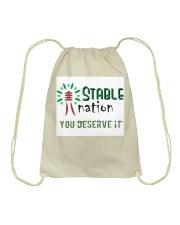 STABLE NATION  Drawstring Bag thumbnail