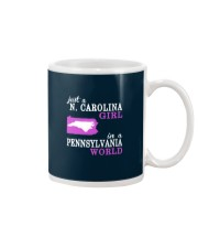 N Carolina - Pennsylvania- Just a shirt - Mug thumbnail