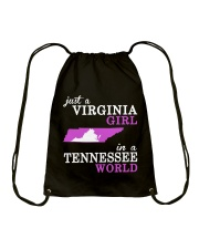 Virginia - Tennessee - Just a Shirt - Drawstring Bag thumbnail