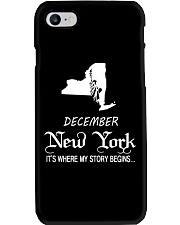 New York - Its Where My Story Begins-December -  Phone Case thumbnail