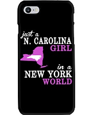 N Carolina - NewYork- Just a shirt - Phone Case thumbnail