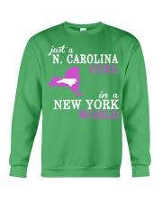 N Carolina - NewYork- Just a shirt - Crewneck Sweatshirt thumbnail