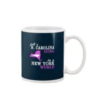 N Carolina - NewYork- Just a shirt - Mug thumbnail