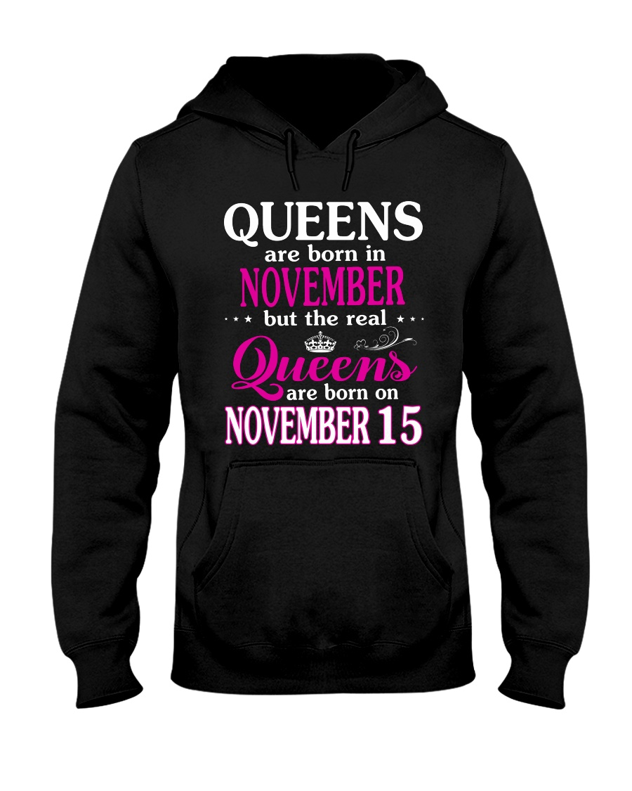 Queens - November 15 Hooded Sweatshirt