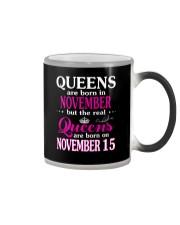 Queens - November 15 Color Changing Mug thumbnail