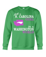 N Carolina - Washington - Just a shirt - Crewneck Sweatshirt thumbnail