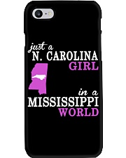 N Carolina - Mississippi - Just a shirt - Phone Case thumbnail