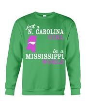 N Carolina - Mississippi - Just a shirt - Crewneck Sweatshirt thumbnail