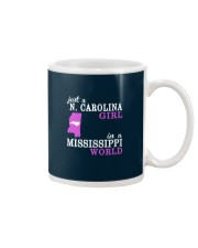 N Carolina - Mississippi - Just a shirt - Mug tile