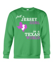 New Jersey -Texas - Just a shirt - Crewneck Sweatshirt thumbnail