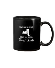 I may live in Texas - My DNA is New York Mug thumbnail