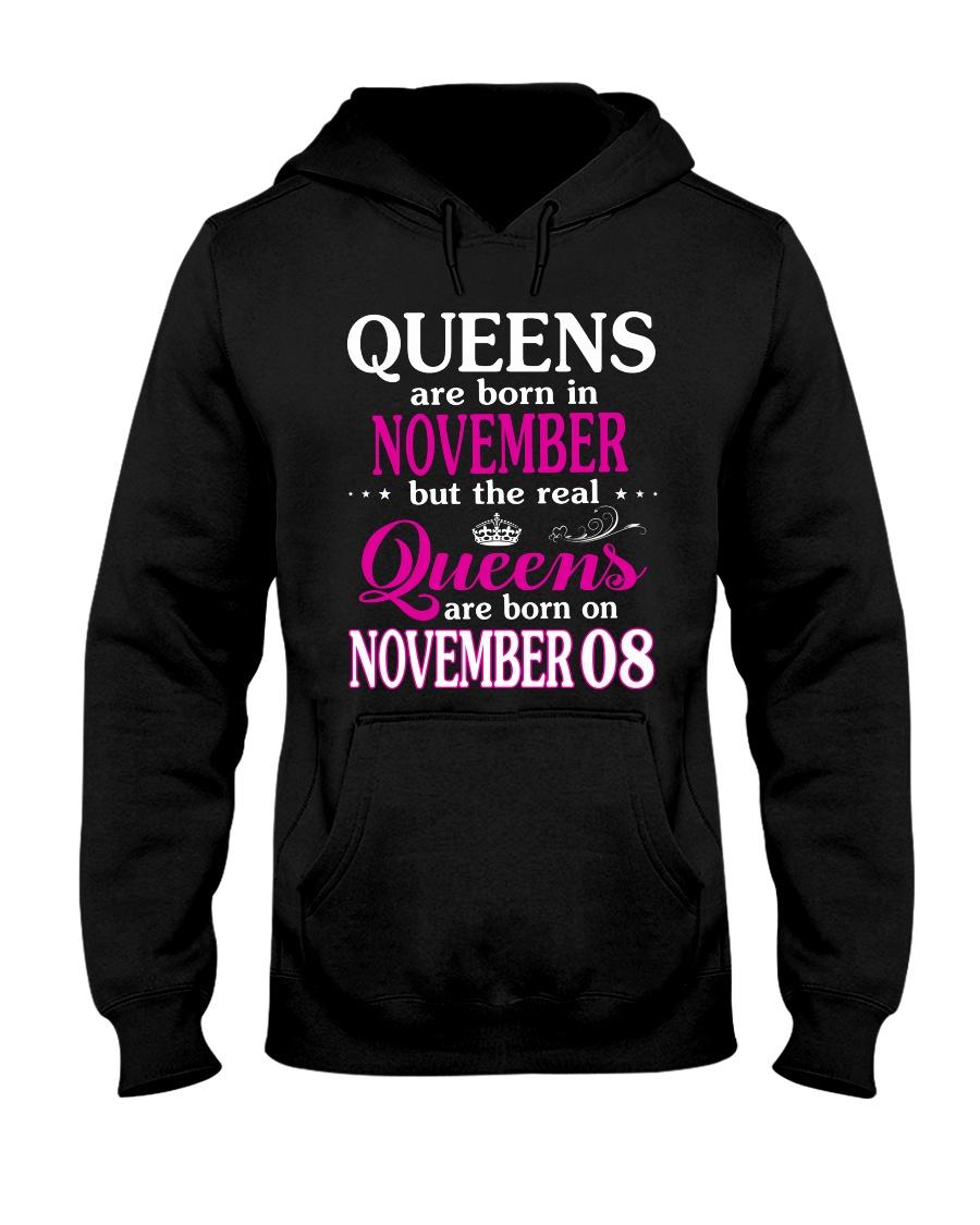 Queens - November 08 Hooded Sweatshirt