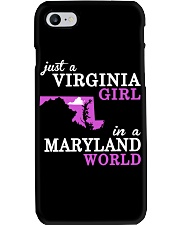 Virginia - MARYLAND - Just a Shirt - Phone Case thumbnail