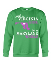 Virginia - MARYLAND - Just a Shirt - Crewneck Sweatshirt thumbnail