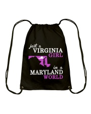 Virginia - MARYLAND - Just a Shirt - Drawstring Bag thumbnail