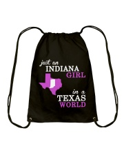 Indiana - Texas Just a shirt -  Drawstring Bag thumbnail