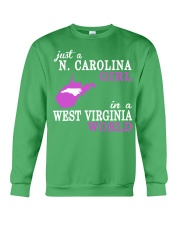N Carolina - West Virginia - Just a shirt - Crewneck Sweatshirt thumbnail