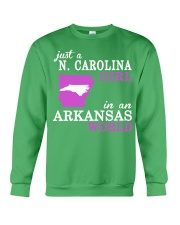 N Carolina - Arkansas - Just a shirt - Crewneck Sweatshirt thumbnail