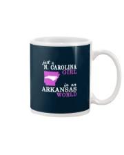 N Carolina - Arkansas - Just a shirt - Mug tile