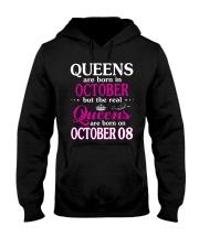 Queens - October 08 Hooded Sweatshirt front