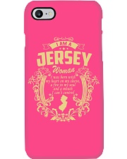 JerSey Girl Woman Tshirt- I cant Control - Phone Case thumbnail